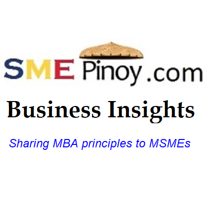 Sharing MBA principles to MSME